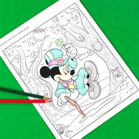 St Big Mickey Kid 12 st s day printable coloring pages for adults