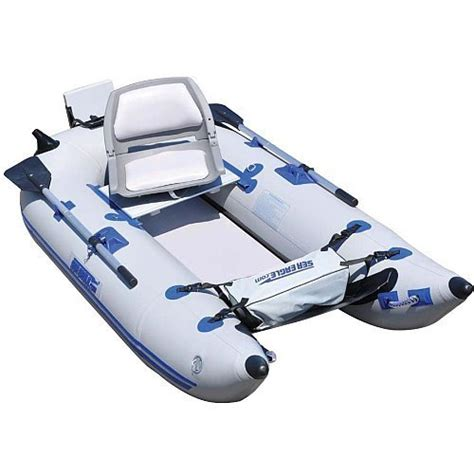 inflatable boats safe save sea eagle 285fpb inflatable pontoon boat pro package
