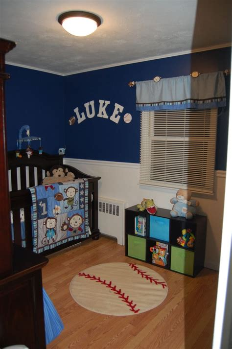 baby boy sports room ideas baby boy nursery sports monkey blue my creations