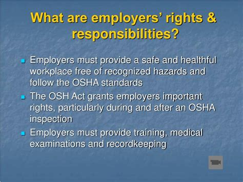 section 11 c of the osha act ppt introduction to osha powerpoint presentation id 295767