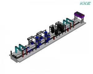 Kke gamma 30 m conveyor car wash equipment