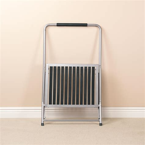 Wide Folding Step Stool by Wide Folding Step Stool With Handle Walter
