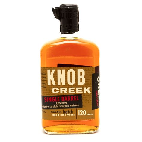 Knob Creek Single Barrel by Knob Creek Single Barrel Reserve Bourbon Whiskey Aged 9