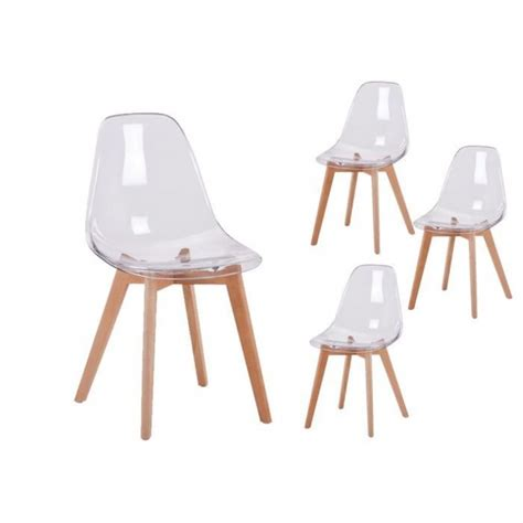 Chaises Transparente by Chaises Scandinaves Transparentes Chaise