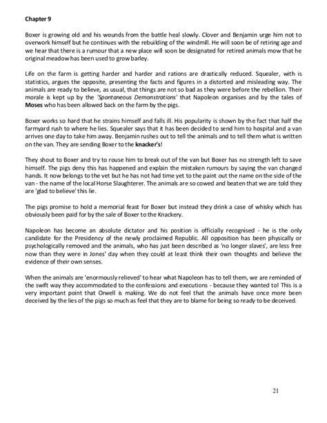 Animal Farm Theme Essay by Satire In Animal Farm Essay On Themes