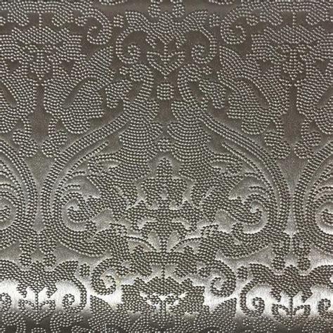 vinyl upholstery fabric for sale lyon embossed damask pattern vinyl upholstery fabric by