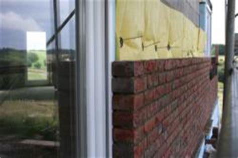 Duschvorhang Für Fenster by Fenster Und Klinker Fassade Bauunternehmen