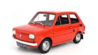 Polski Fiat Fiat 126 Prima Serie 1972 Model Car 1 18 Laudoracing