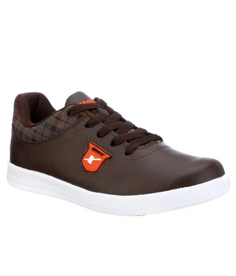 sparx brown canvas casual shoes available at snapdeal for