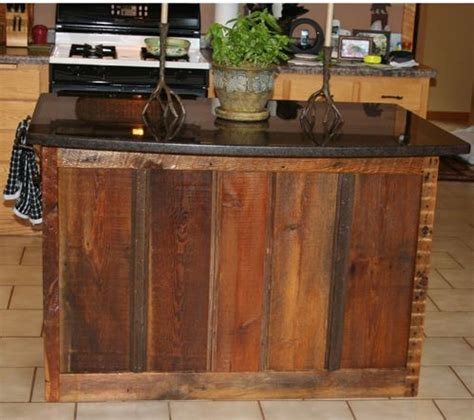 kitchen island made from reclaimed wood kitchen island made out of reclaimed barn wood
