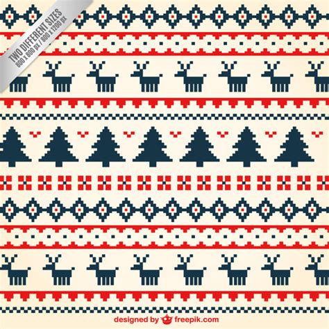 pattern christmas free vector geometric christmas pattern vector free download