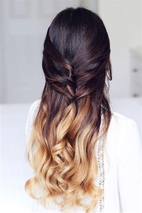 hairstyles instagram luxyhair cute half up half down hairstyle luxy hair