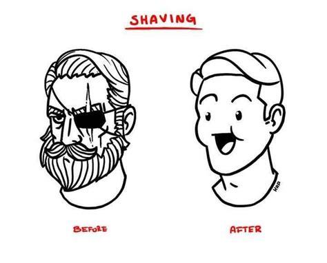 After Shave Meme - beard shaving comic parodies know your meme