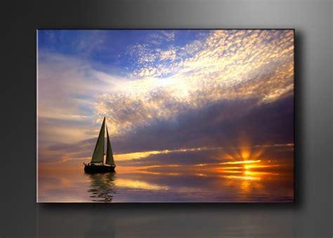 barco de bela dibujo moderno cuadro en lienzo bela en el mar arte dibujo