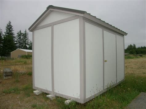 Insulating Sheds by Insulated Storage Shed Built In Hours No Mold No Mildew