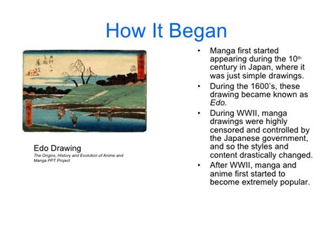 history of anime and the history of anime