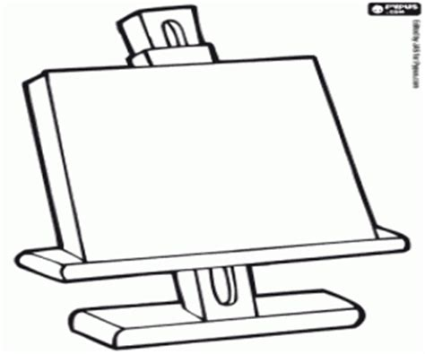 art easel coloring page artist painter coloring pages printable games