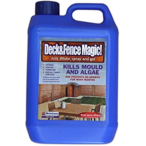 Algaelang The Algae Killer 2 5l brintons deck and fence magic liquid mould algae and moss killer