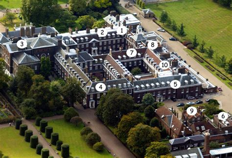 kensington palace apartments royalty kate and william s kensington palace home in