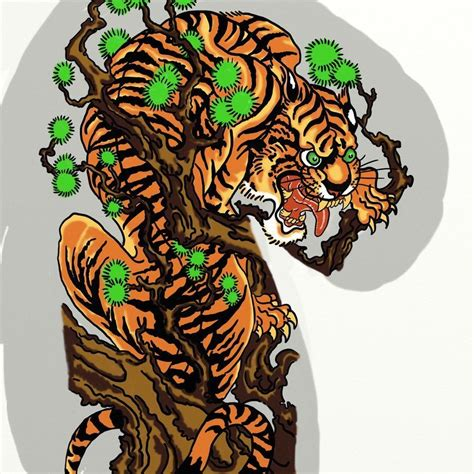 classic japanese tattoo designs japanese tiger japanese tiger by vinzsacha things