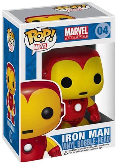 marvel universe funko pop iron man vinyl bobble head
