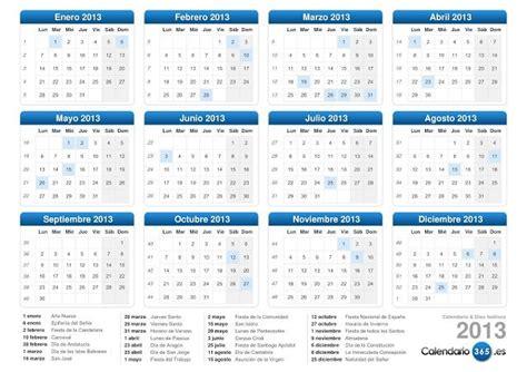calendario 2013 mundonets calendario laboral 2013 paperblog