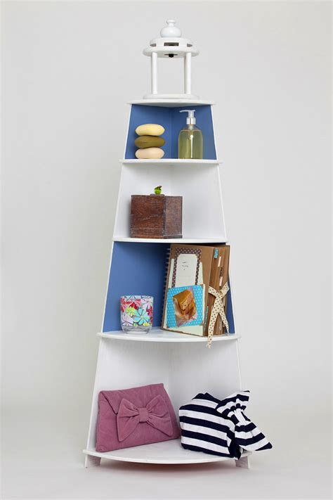 Lighthouse Shelf Unit by Lighthouse Shelving Unit Recipe Book Photographed For