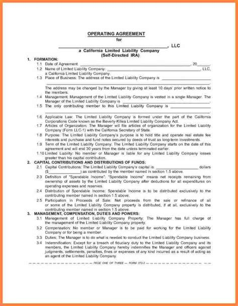 operating level agreement template 6 service level agreement template purchase