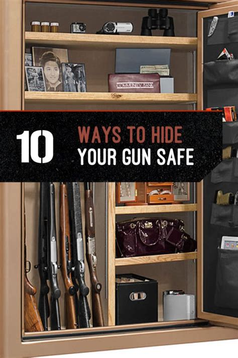 9 Unique Places To Hide A Letter by Gun Storage How To Hide Your Gun Safe Badass Ideas Of