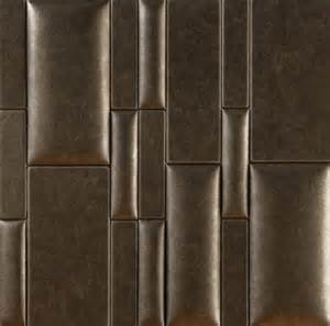 Leather Wall Tiles Nappatiles Faux Leather Wall Tile Finishes