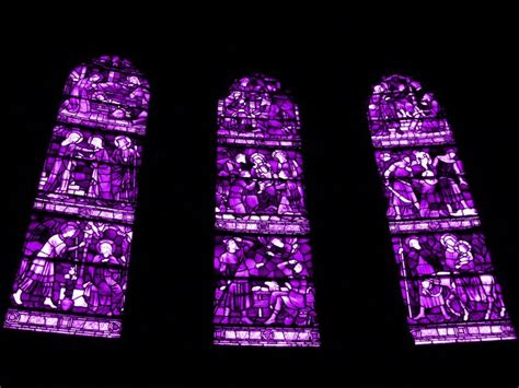 Stained Glass Purple glass stained purple stained glass