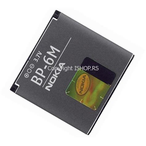 Nokia Batterybattery Bp 6m Original original baterija nokia bp 6m lithium polymer 3 7v 1070