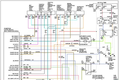 2002 dodge dakota spark wire set diagram wiring