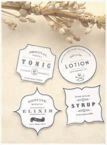 vintage label template vintage apothecary label template free