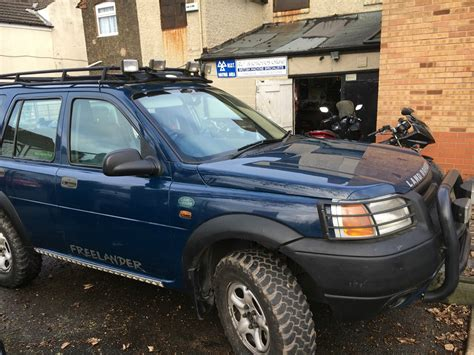 land rover freelander road 1998 land rover freelander xedi s wagon blue green laner