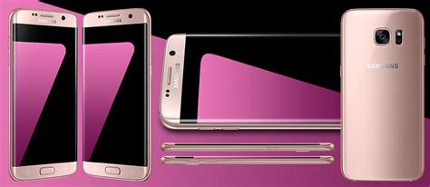 Samsung Galaxy S7 Edge Pink samsung galaxy s7 edge pink gold color now available in india