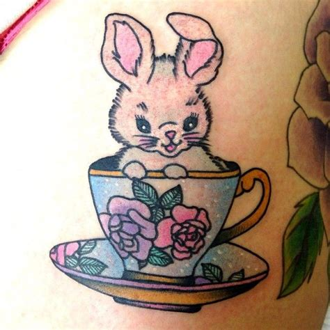 cute lil lauren winzer bunny awesome tatts pinterest