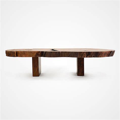 wood slice coffee table pequi slice coffee table parallel wood legs rotsen