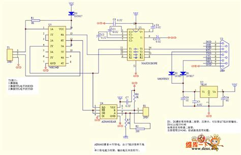 rs232 to rs485 converter circuit diagram rs232 to rs485 adapter schematic efcaviation