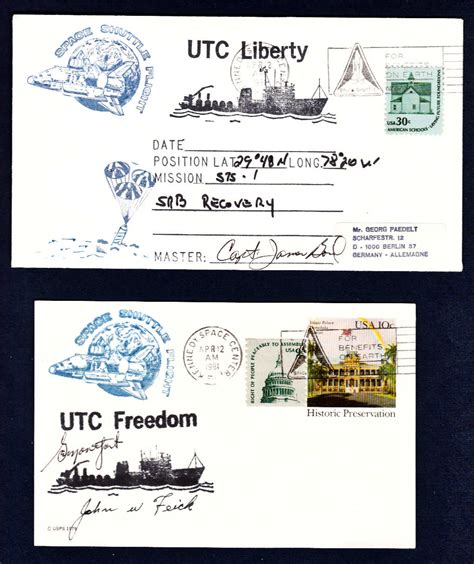 german rubber sts space cover 351 srb retrieval ship covers collectspace