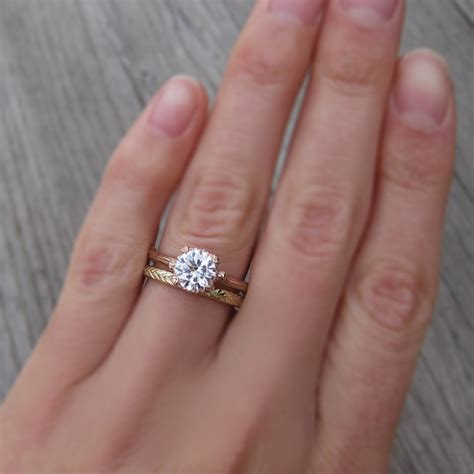 lovely order of wedding band and engagement ring matvuk com