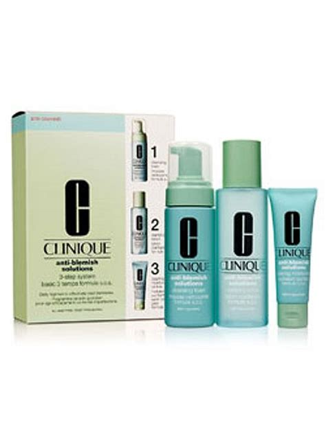 Clinique 3 Step clinique anti blemish solutions 3 step system house of