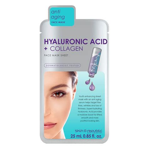 Masker Mata Emas Hello Collagen Hk Eye Mask skin republic hyaluronic acid collagen sheet mask