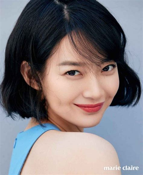 shin min ah captivates viewers with her flawless beauty in