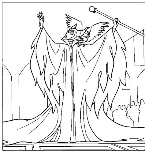 Maleficent Wings Coloring Pages Maleficent Coloring Pages