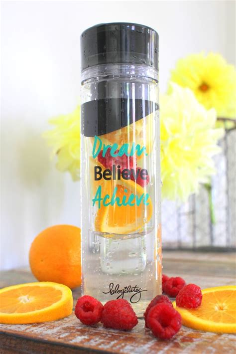 Detox Bottle Recipes by Believe Achieve Detox Water Bottle Exercise Health