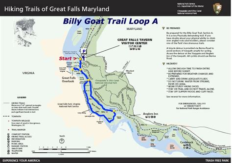 Billy Goat Trail Section C by Billy Goat Trail In Great Falls Md The Trailblazers