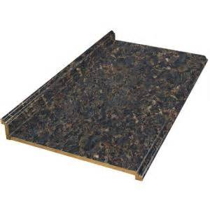 Foot Laminate Countertop - hampton bay valencia 10 ft laminate countertop in spicewood springs 490552v10 the home depot