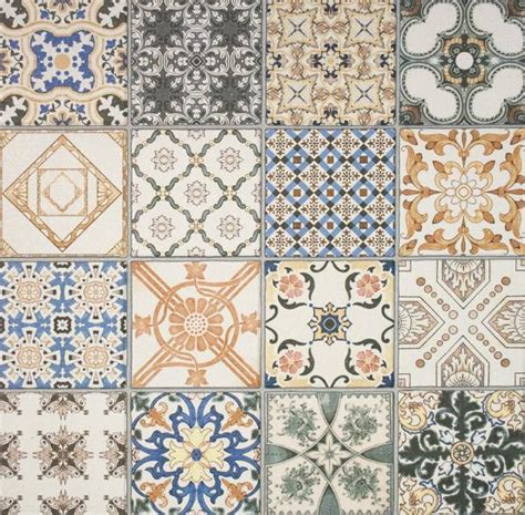 retro pattern wall tiles pattern effect wall floor tiles baked tiles