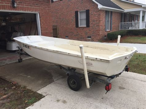 fishing boat for sale no motor 13 boston whaler hull for sale no motor the hull truth